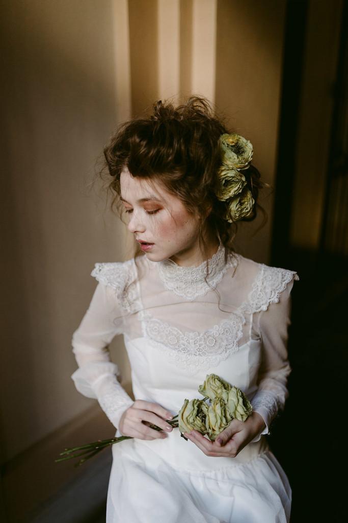 Dettaglio Abito da Sposa Vintage