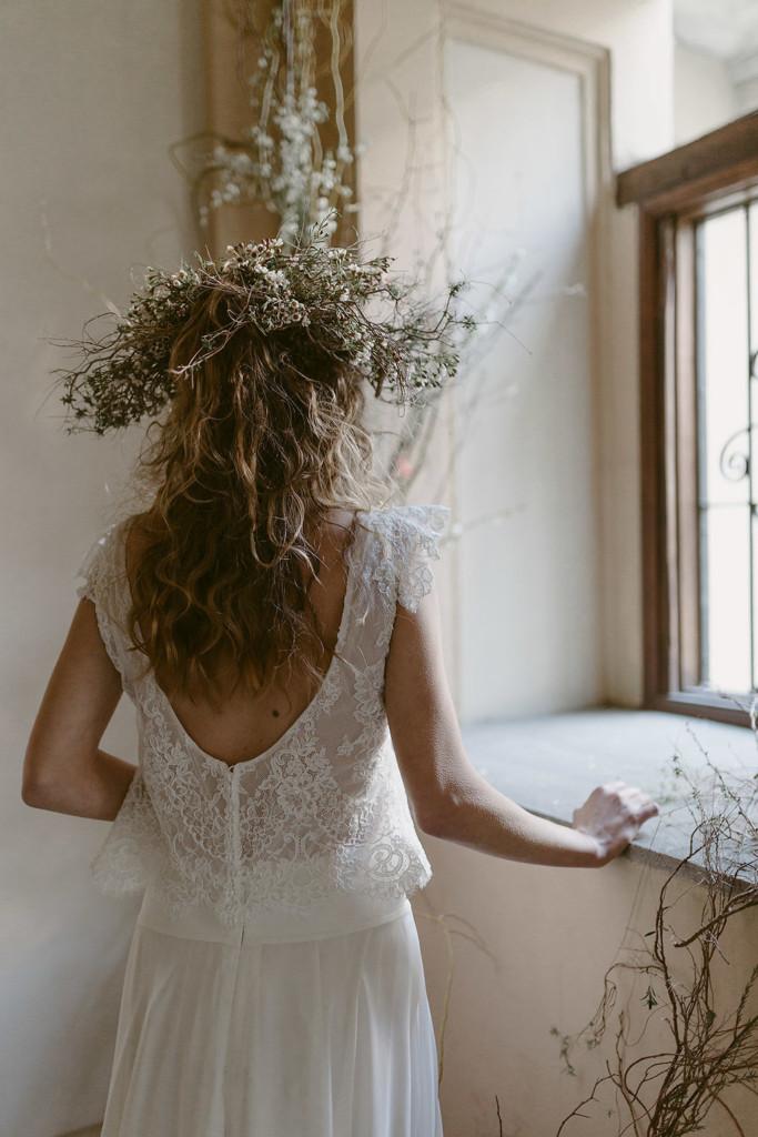Dettaglio Abito da Sposa Boho