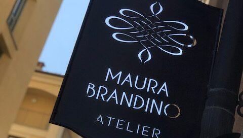 Atelier Maura Brandino Torino: Particolare Insegna