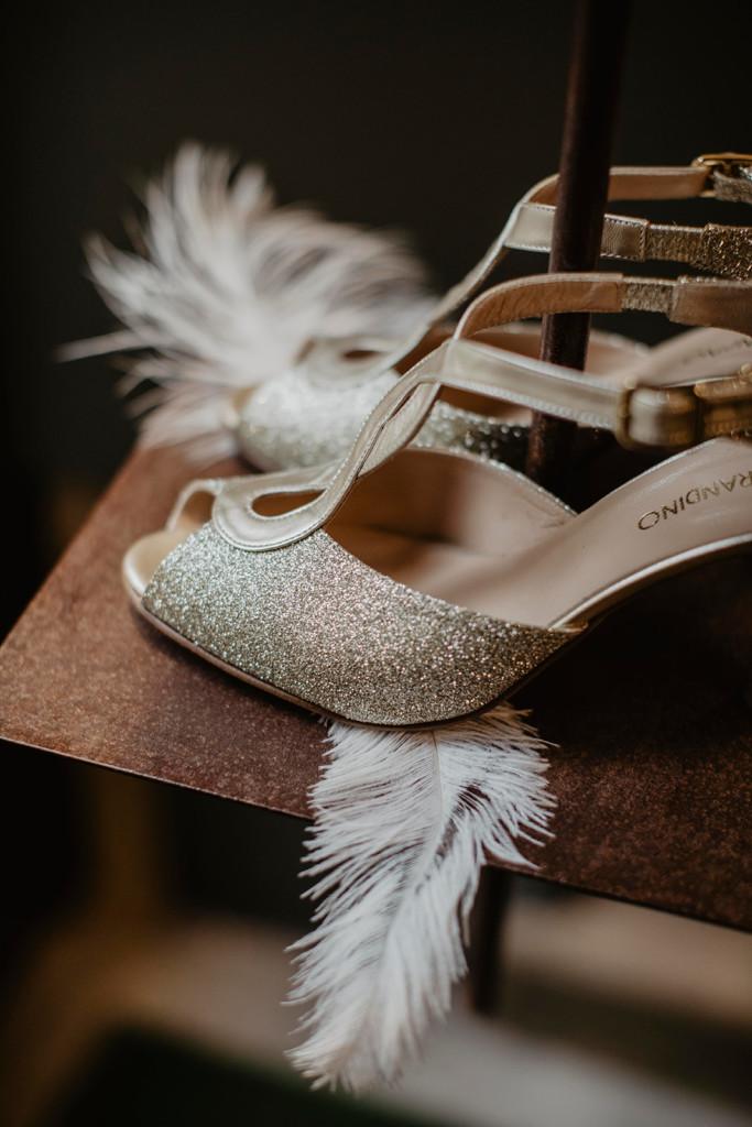 dettagli scarpe maura brandino