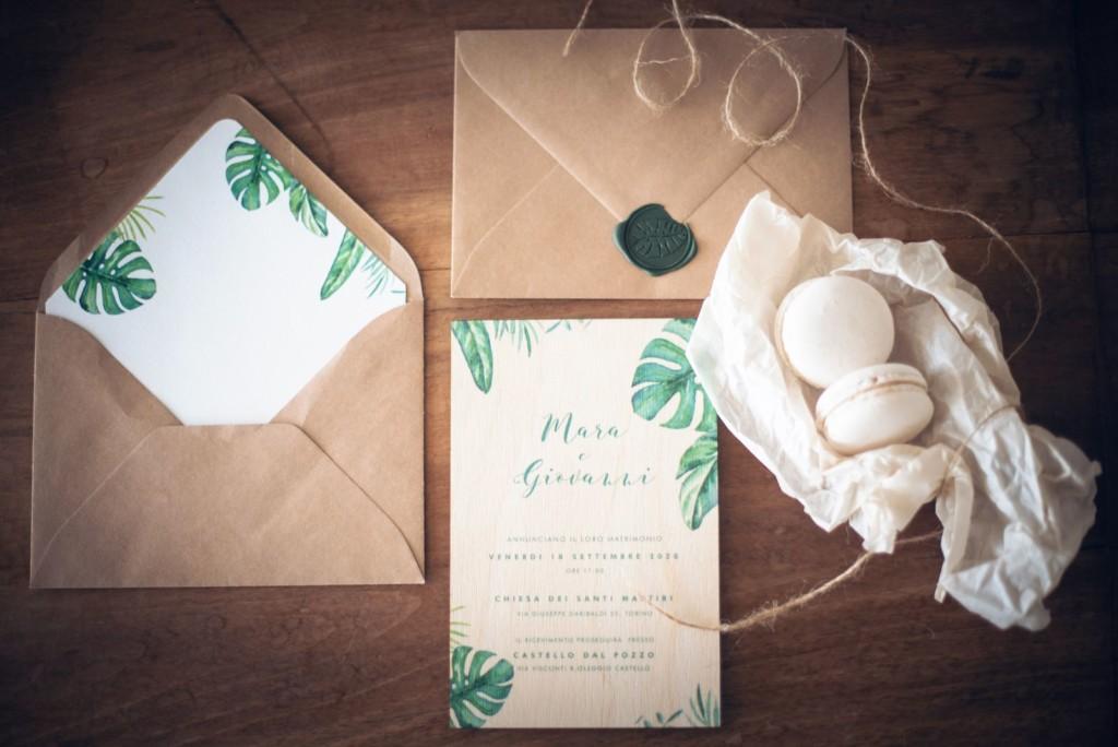 Partecipazioni di nozze torino