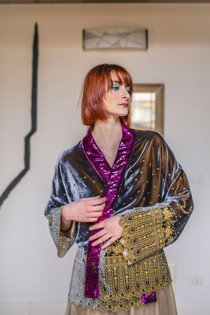 Kimono Ghiandaia